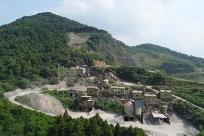 両後山砕石工場